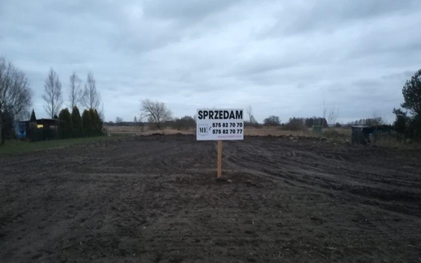 Działka budowlana Czarna Łąka nad Jeziorem Dąbie