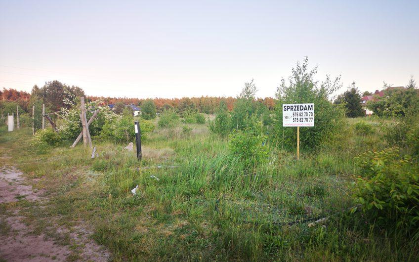 Działka budowlana media WZ Goleniów okolica 10 km