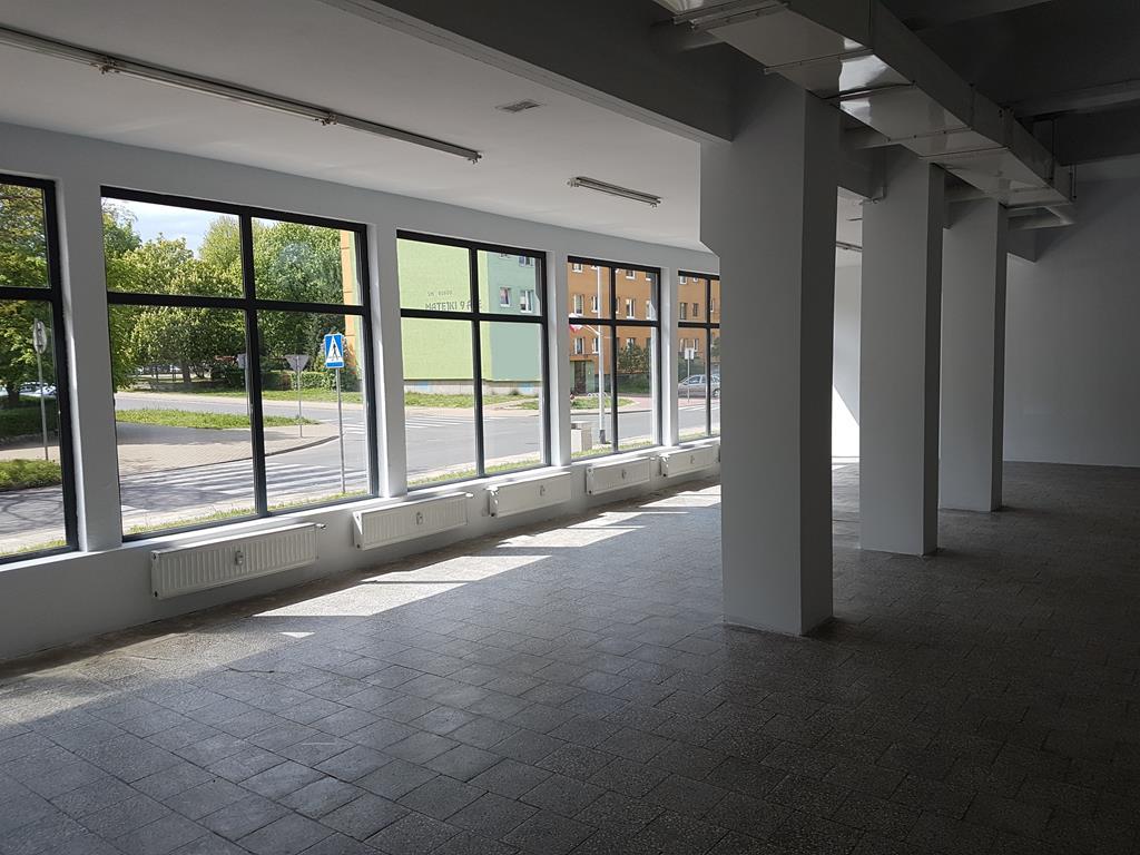 Lokal użytkowy parter witryny Goleniów Wynajem