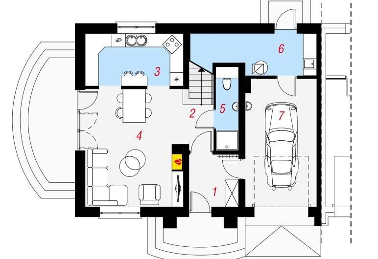 Nowe mieszkanie 4 pokojowe z garażem Osiedle Goleniów