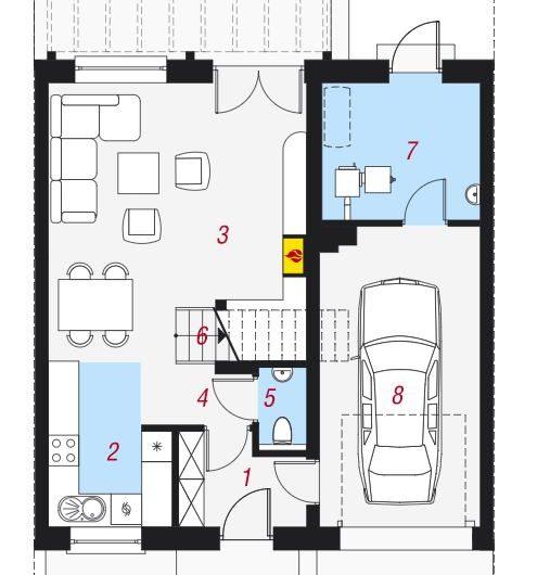 Goleniów Mieszkanie 4 pokojowe garaż osiedle zamknięte