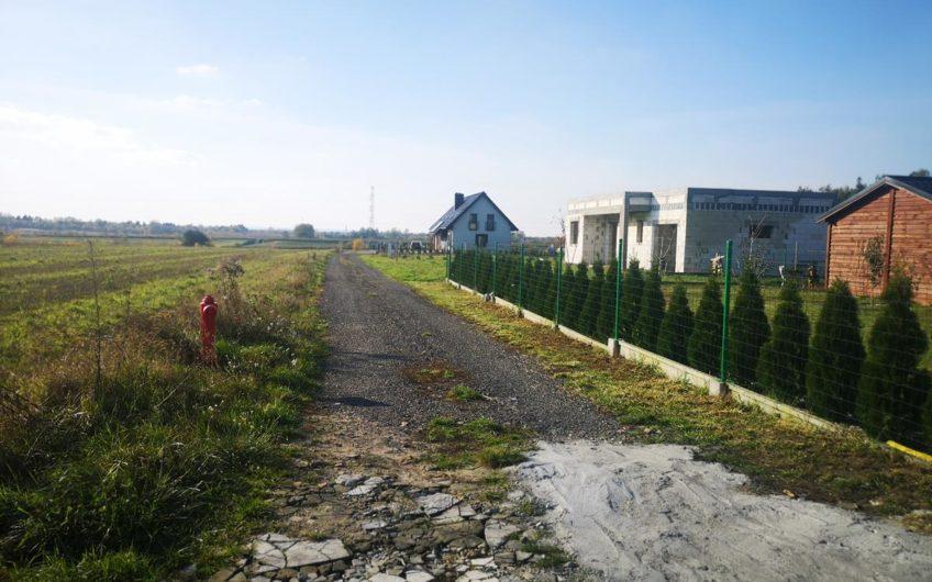 Słoneczna działka budowlana Media Marszewo Goleniów
