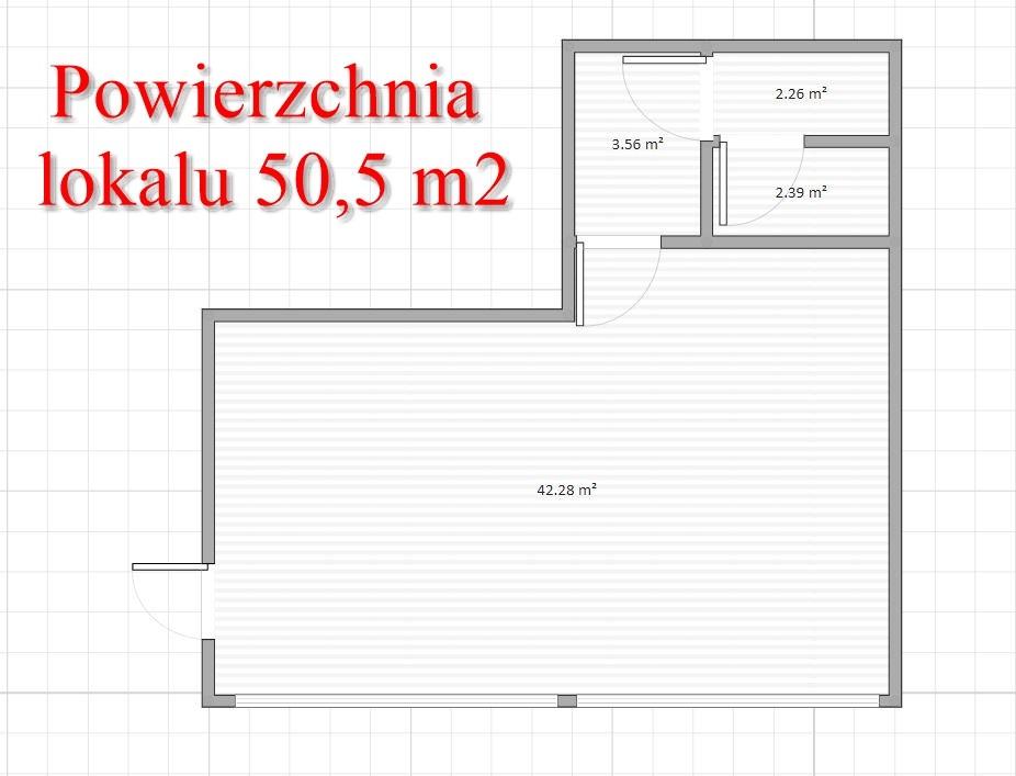 Goleniów lokal użytkowy 50 m2 centrum miasta