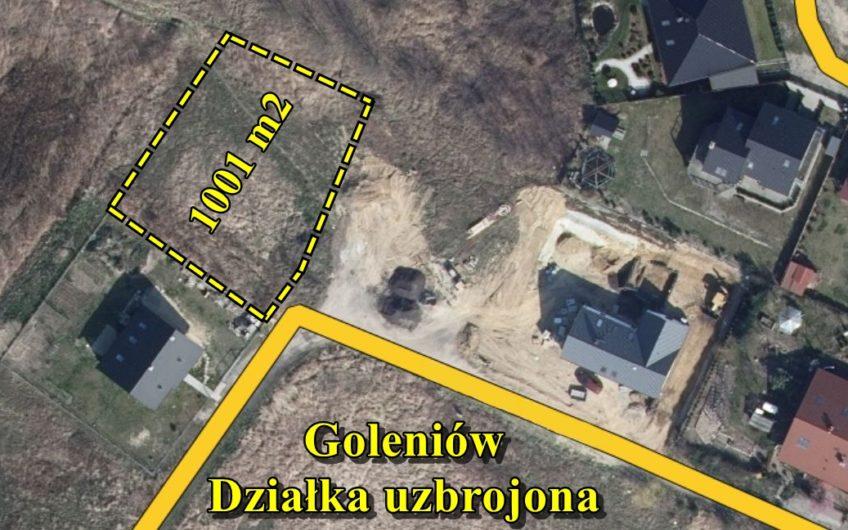 Działka budowlana 1001 m2, Goleniów