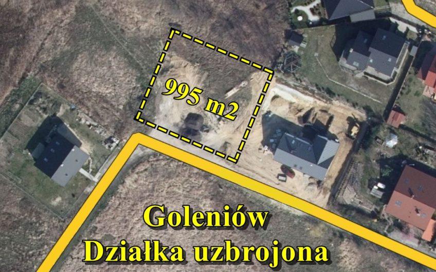 Działka pod zabudowę mieszkaniową, Goleniów