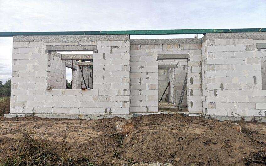 Działka z rozpoczętą budową Goleniów Szczecin Stargard okolica