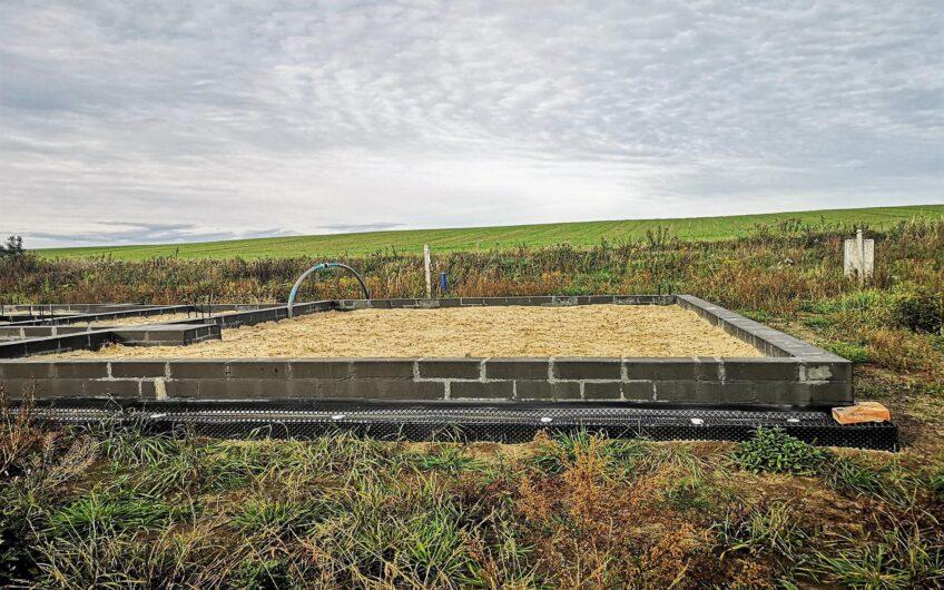 Goleniów Zielone Wzgórze Działka z domem w budowie