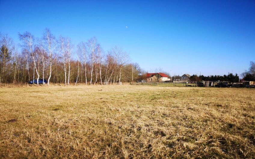 Działka 1079m2 pod budowę Białuń Goleniów
