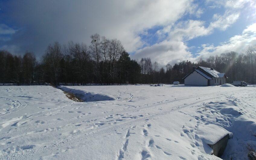 Działka pod budowę domu Goleniów okolica Białuń