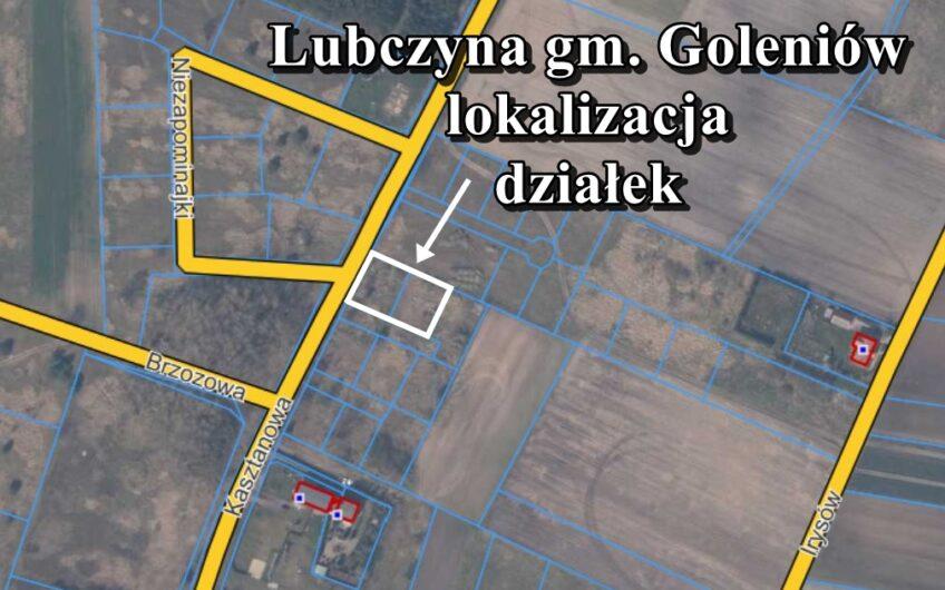 Działka budowlana z WZ Lubczyna ul. Kasztanowa