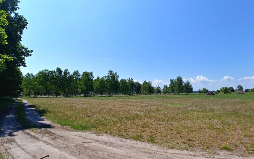 Działka budowlana, przy lesie Miłowo gm. Stepnica